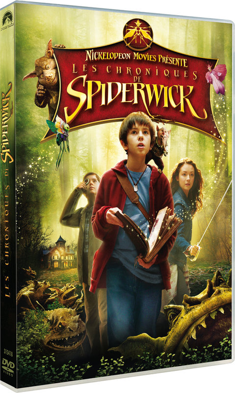 Vente DVD :                                    Les chroniques de Spiderwick - Mark Waters