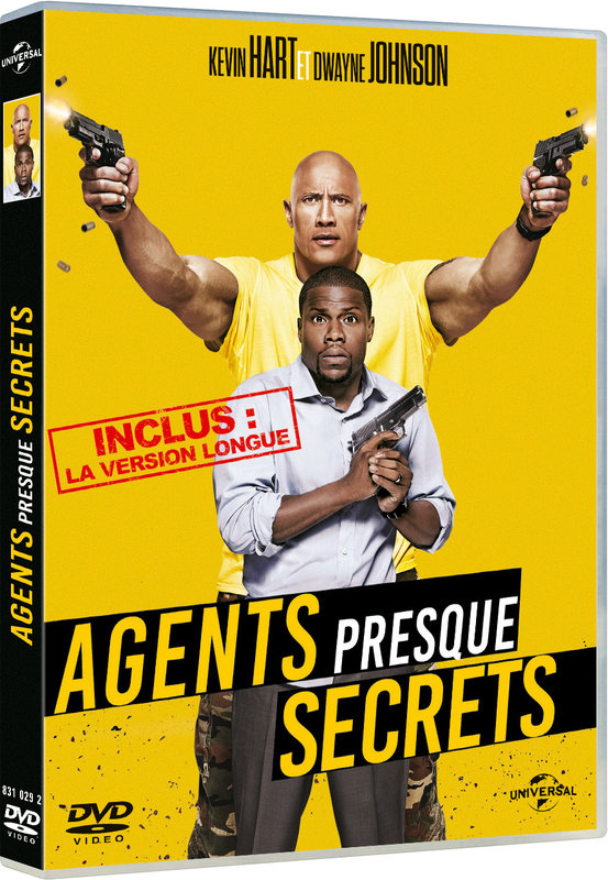 Vente DVD :                                    Agents presque secrets - Rawson Marshall Thurber