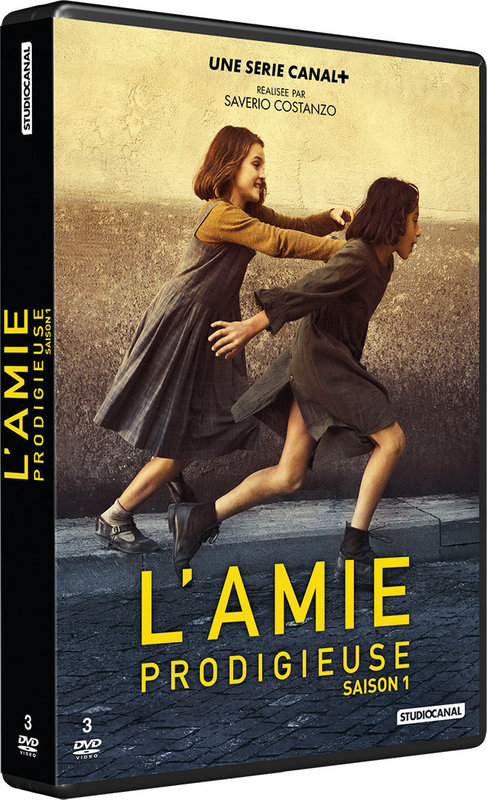 Vente DVD :                                    L'Amie prodigieuse - Saverio Costanzo