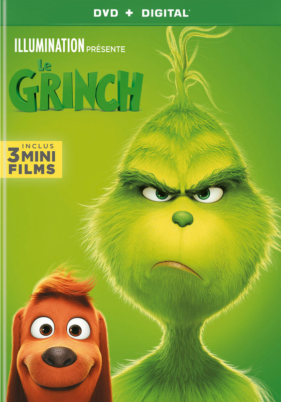 Vente DVD :                                    Le Grinch Animé