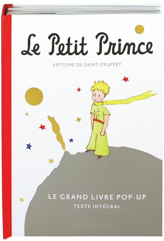 Le petit prince le grand livre pop up antoine de saint for Le grand livre du minimalisme