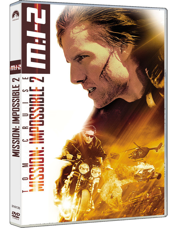 Vente DVD :                                    Mission Impossible II