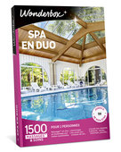 Spa en duo - coffret - Wonderbox