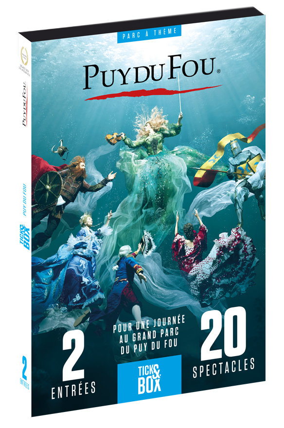 Vente divers :                                    Coffret Tick&Box - Puy Du Fou