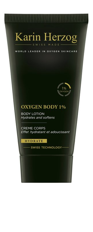 Vente Beauté :                                    Oxygen Body 1%, 150 ml                                                                         - Karin Herzog