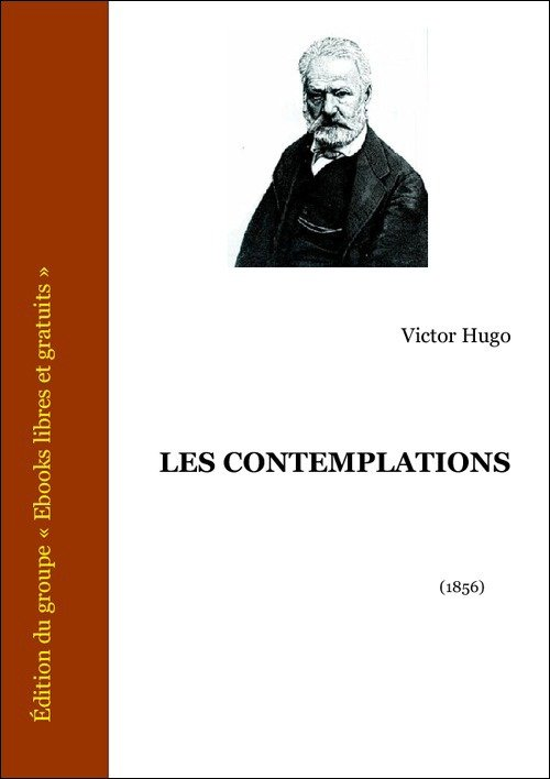 Vente E-Book :                                    Les Contemplations (eBook)                                      - Victor Hugo (1802-1885)