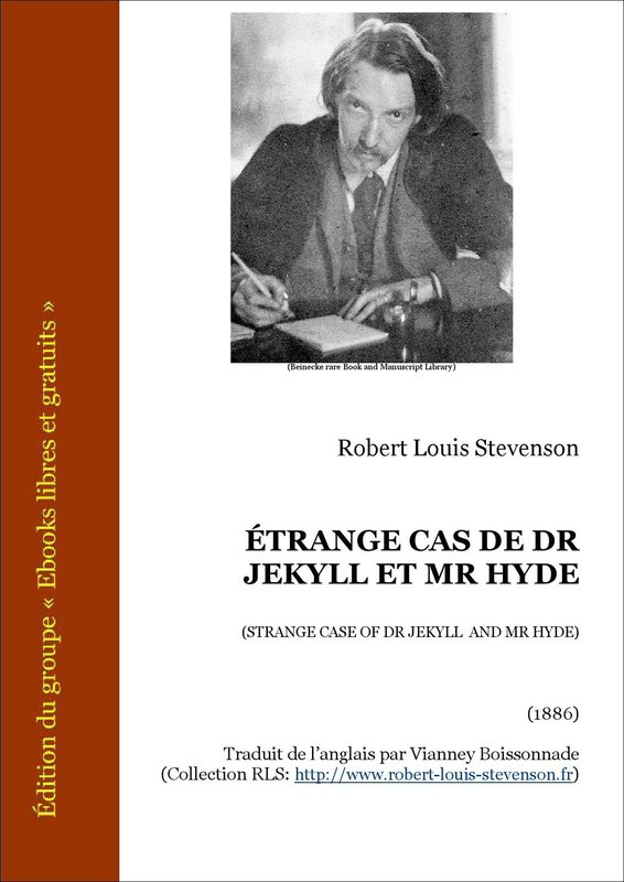 Vente E-Book :                                    Étrange cas de Dr Jekyll et Mr Hyde (eBook)                                      - Robert Louis Stevenson (1850-1894)