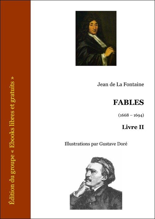 Vente E-Book :                                    Fables, Livre II (eBook)                                      - Jean (de) La Fontaine