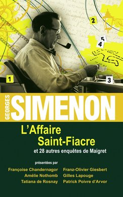L'affaire Saint-Fiacre  - Georges Simenon (1903-1989)