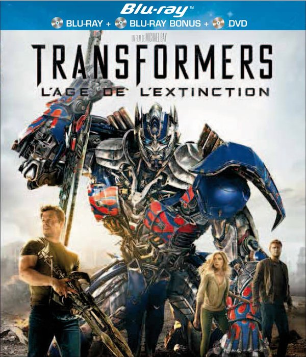 Vente DVD :                                    Transformers : L'âge de l'extinction (Blu-ray)                                      - Michael Bay
