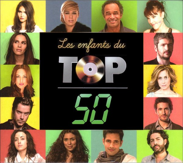 Vente CD :                                    Les enfants du Top 50