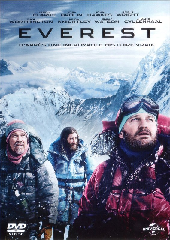 Vente DVD :                                    Everest - Baltasar Kormákur