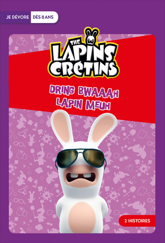 Vente Livre :                                    The Lapins Crétins : Dring Bwaah / Lapin meuh