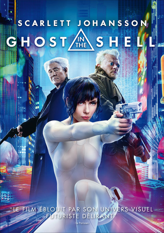 Vente DVD :                                    Ghost in the shell - Rupert Sanders