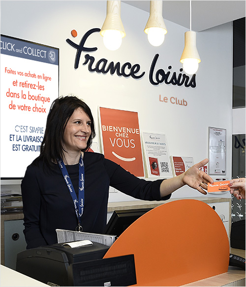 Boutique France Loisirs - Click and collect