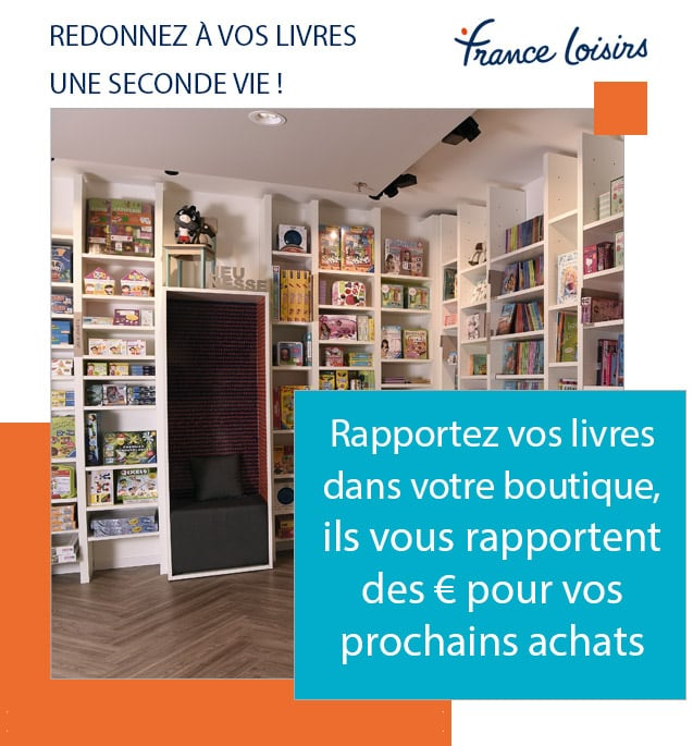 Redonnez à vos livres une seconde vie !