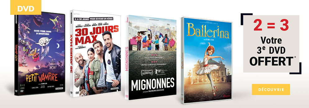 Offre DVD 2=3