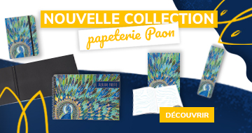 Collection Papeterie Paon