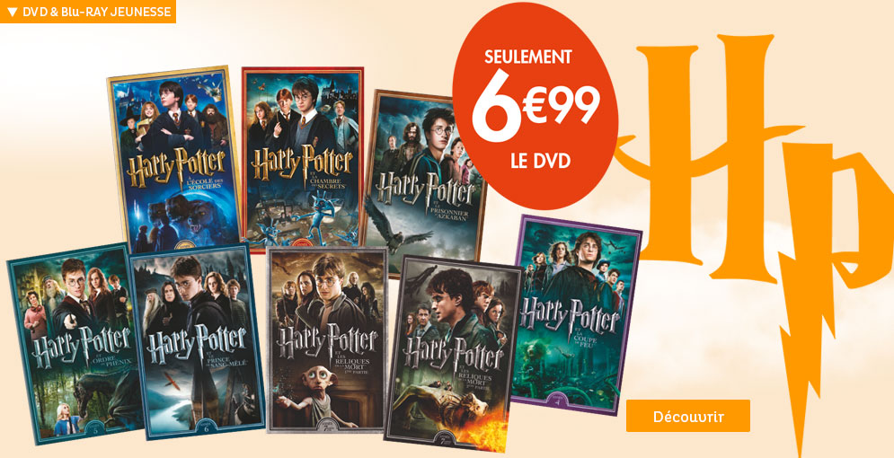 Offre Harry Potter DVD