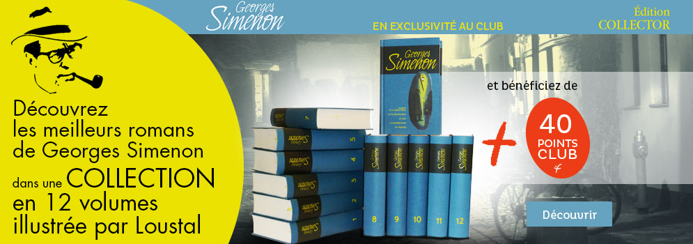 L'édition Collector Georges Simenon
