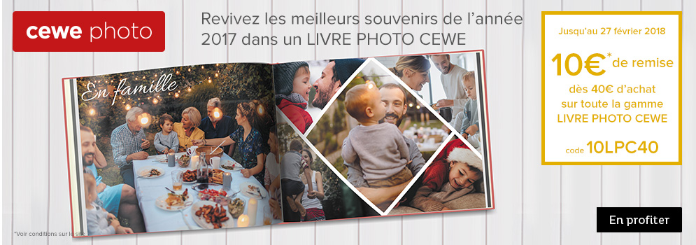 Offre Cewe Photo